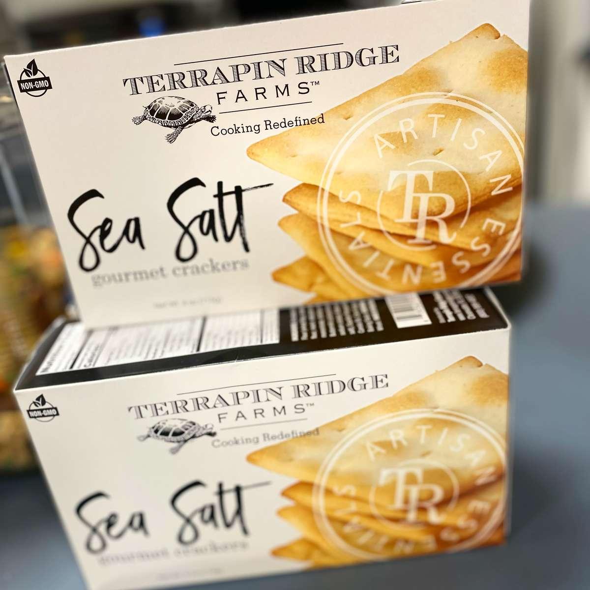 Terrapin Ridge Farms Sea Salt Gourmet Crackers