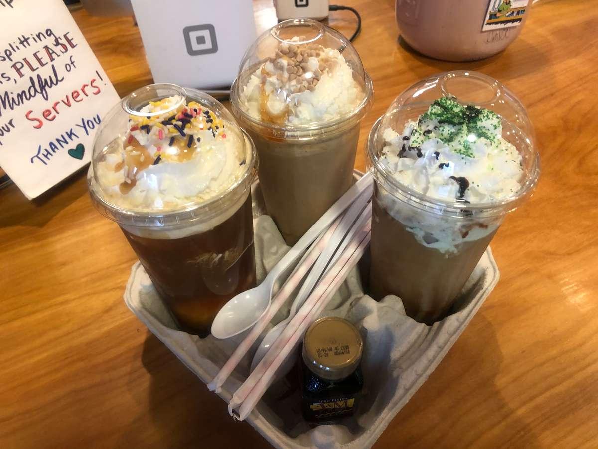 Custom Nitro Coffee Float