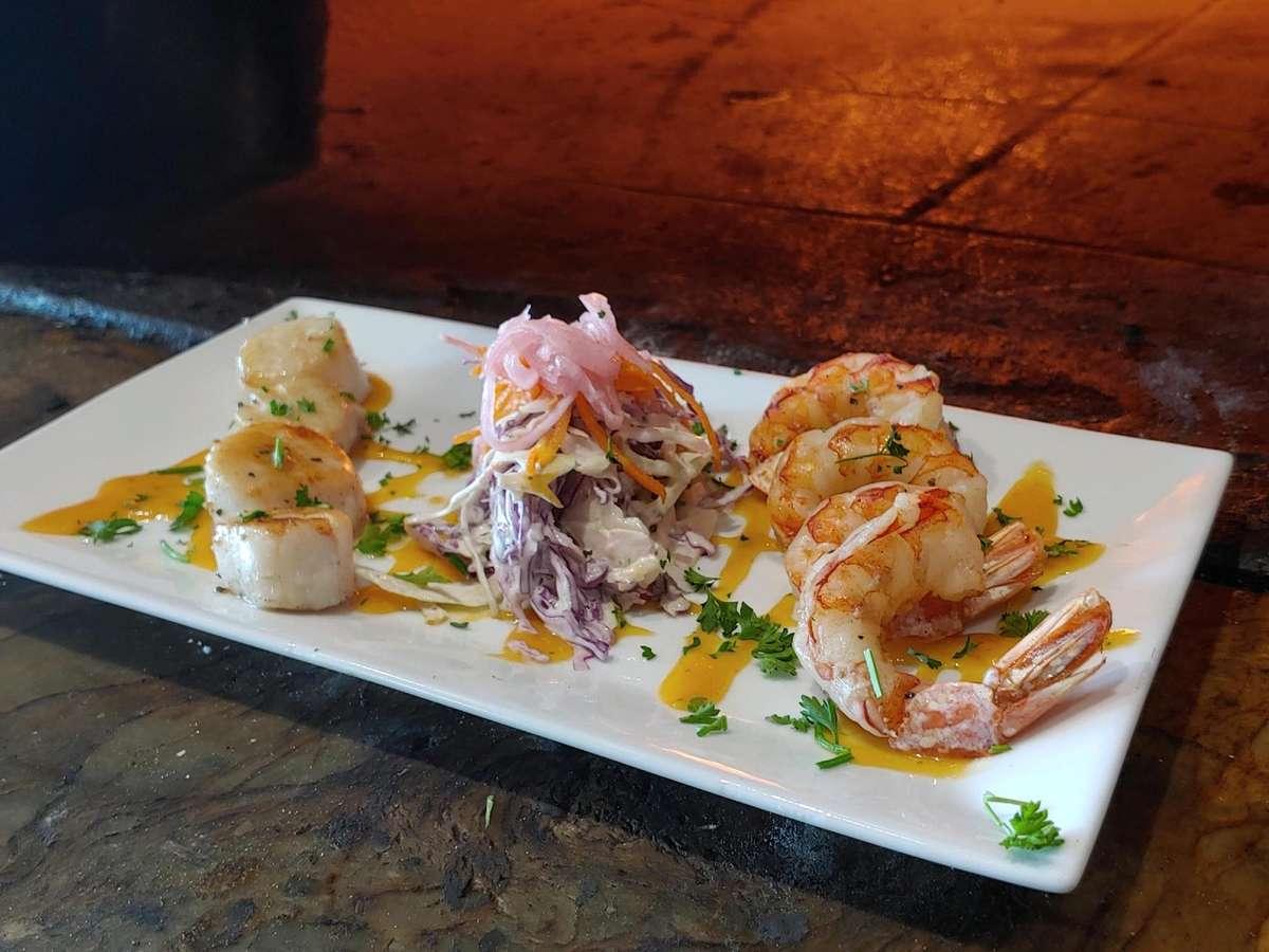 Shrimp & Scallop Grill