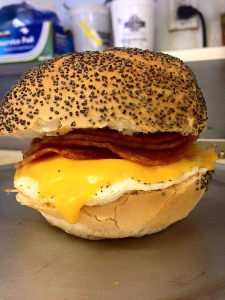 Porkroll Egg and Cheese