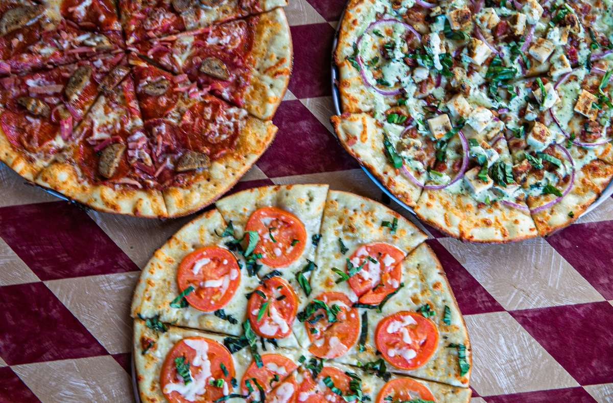 Family Feast - Two Pizzas + Caesar Salad + Piccante Wings (Take-Out Only)