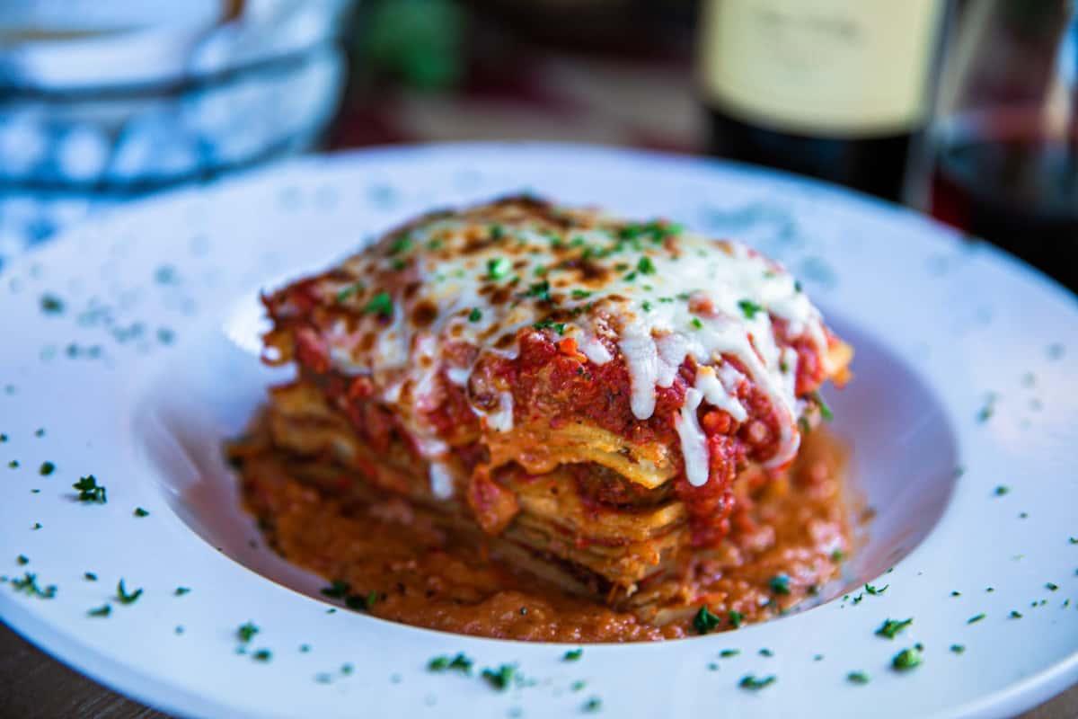Homemade Eight Layer Lasagna