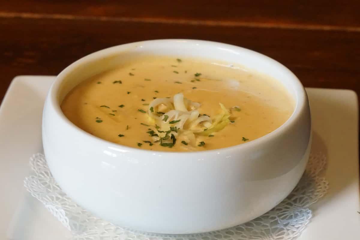 Kitty's Potato & Leek Soup