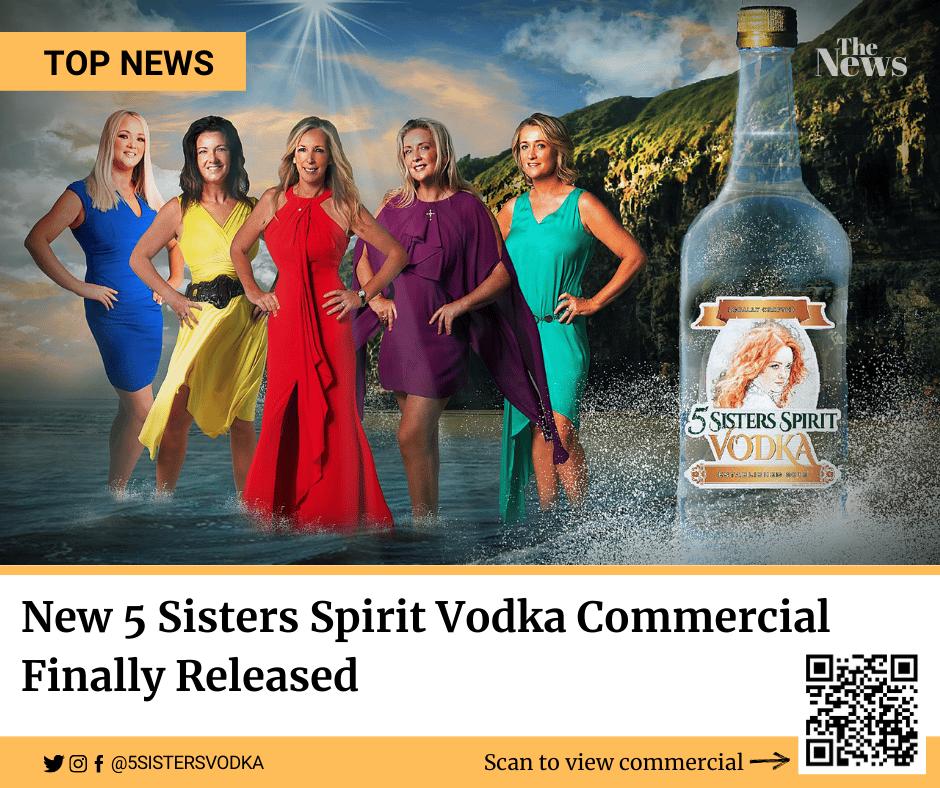$30 | 5 Sister's Vodka Bottle To Go - 1 Liter