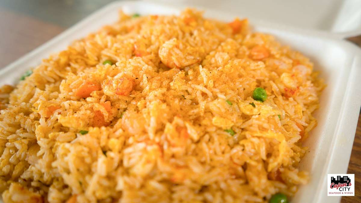 Small Cajun Fried Rice (Spicy)