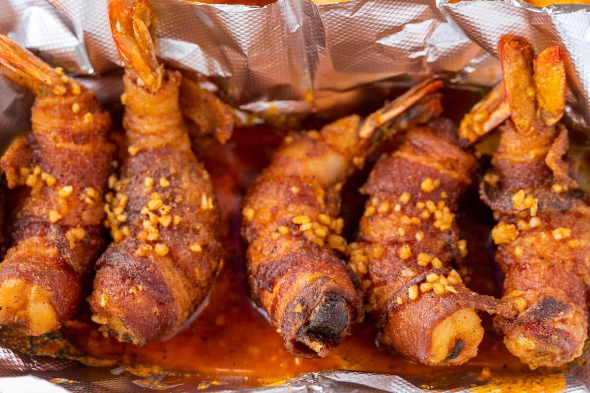Bacon Wrap Shrimp (5)