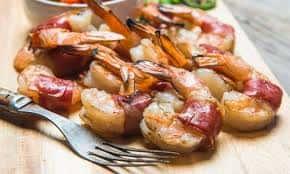 Prosciutto Wrapped Shrimp