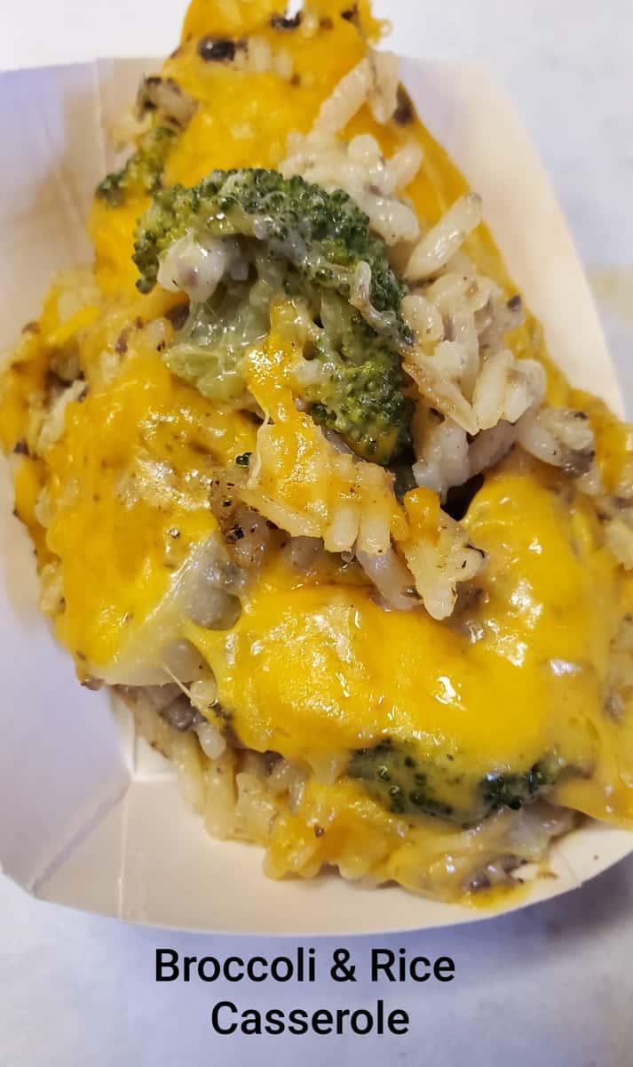 Broccoli & Rice Casserole
