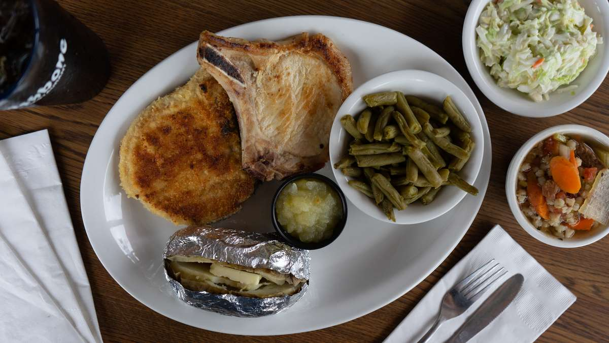 Grilled Pork Chops (2 pcs, 6 oz. ea.)