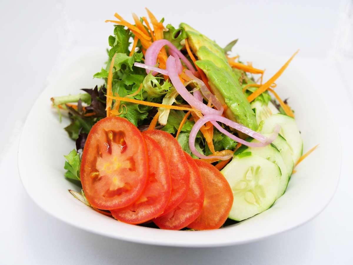 Avocado taco salad