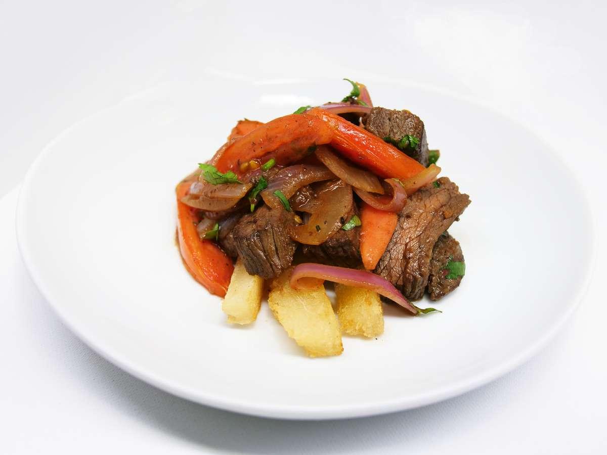 Peruvian stir fry.