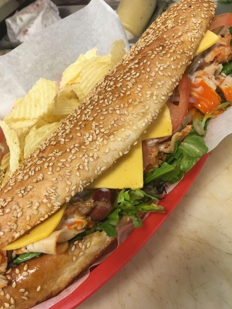 Best Damn Buffalo Chicken Sandwich Ever