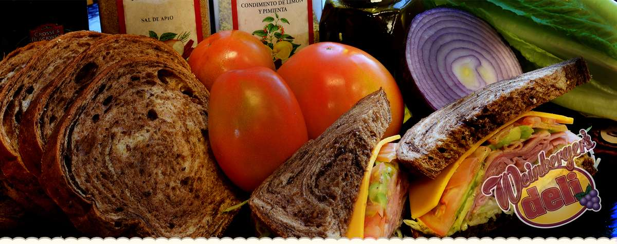 Sandwiches and Vegetables