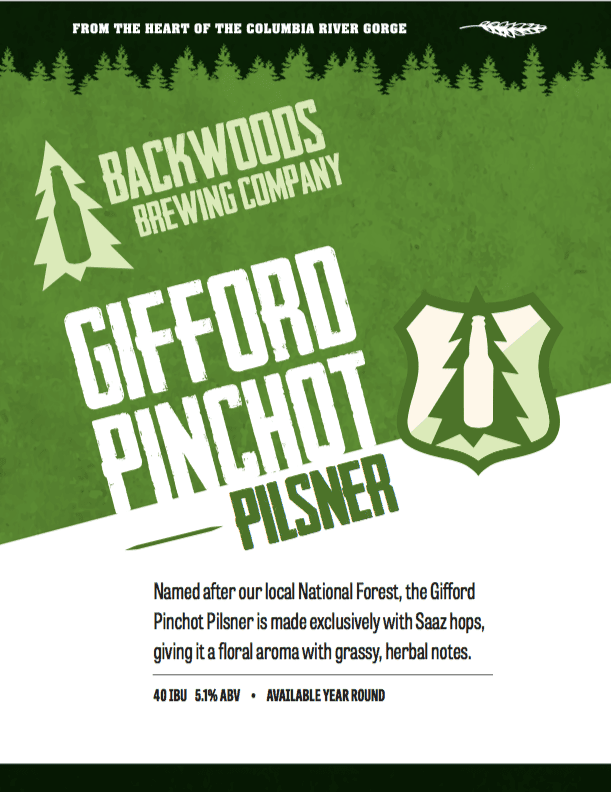 gifford pinchot pilsner - download for PDF