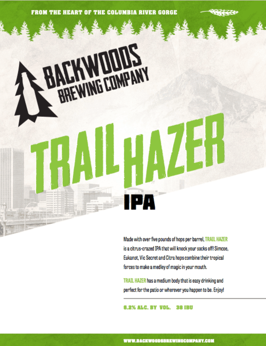 trail hazer ipa - click to download PDF