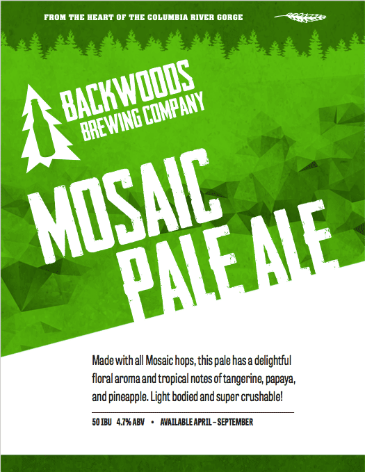 mosaic pale ale - click to download PDF