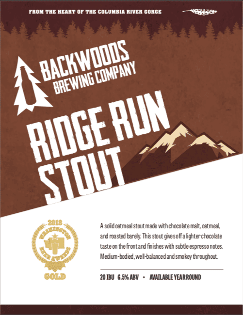 ridge run stout - download for PDF