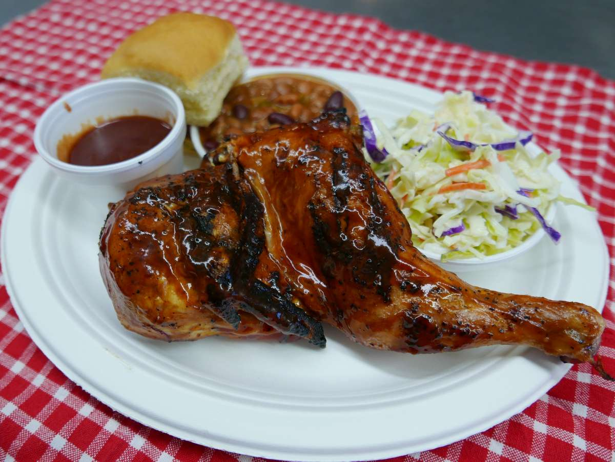 chicken and slaw