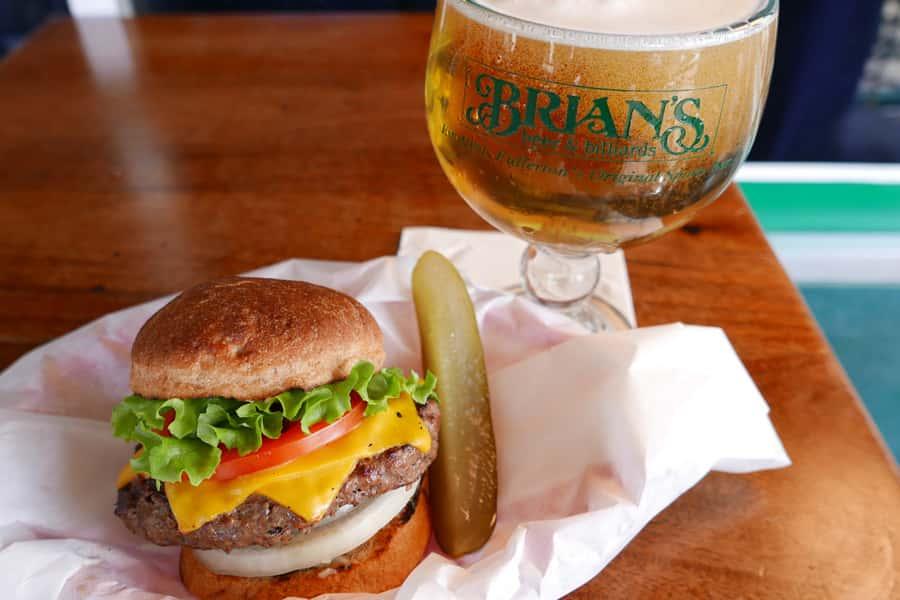 Monday: Burger + Beer