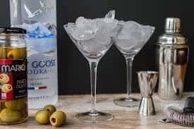 $6 Grey Goose Martinis