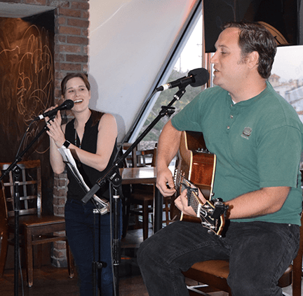 Live Music, Dancing, and Open Mic Night. We have something going on everyday for everyone!