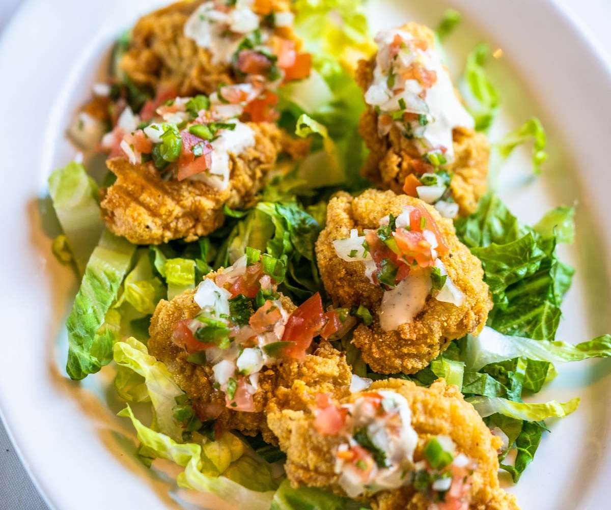 Texas Fried Oysters