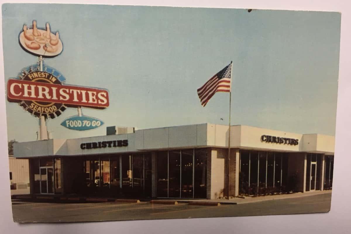 Christie's Restaurant at 6029 Westheimer in 1979