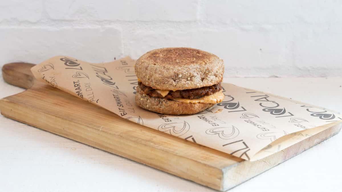 The Baaadasss Breakfast Sandwich