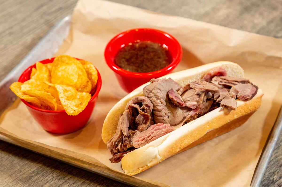Sunday - Smoked Prime Rib Sandwich