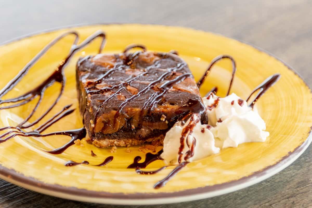 Salted Caramel Pretzel Brownie
