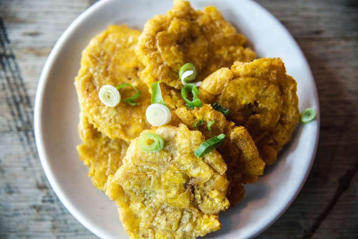 Fried Green Plantain
