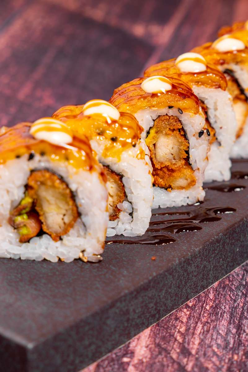 Chicken Chicharon Roll