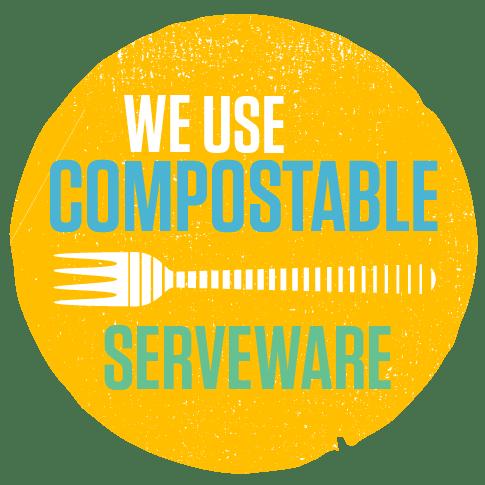 Compostable Serveware Icon