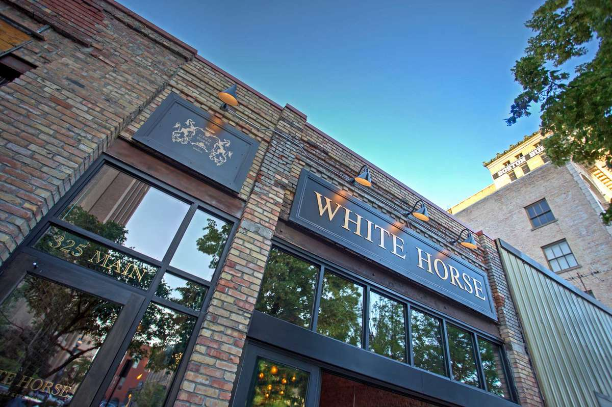 White Horse exterior