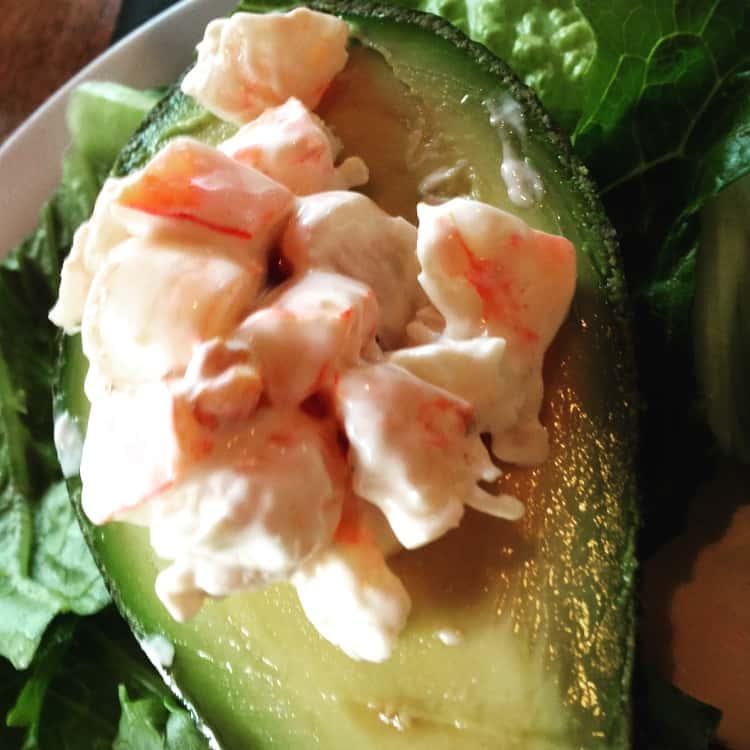 Shrimp Stuffed Avocado