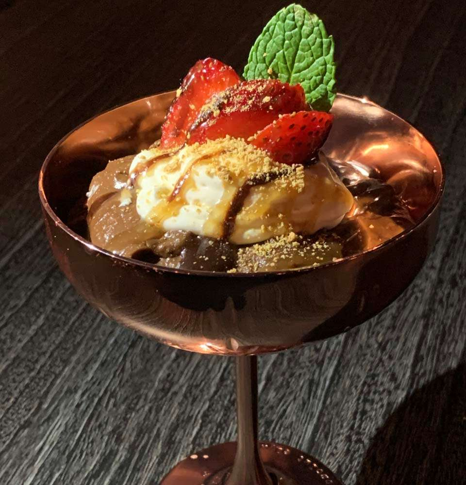 Chocolate Peanut Butter Mousse (vegan)