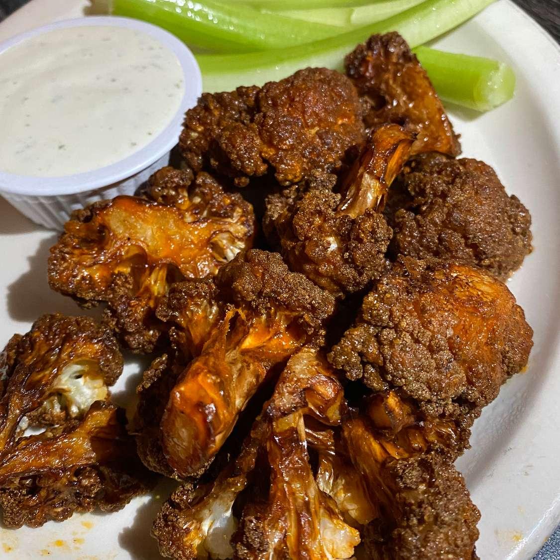 Buffalo Cauliflower or Wings