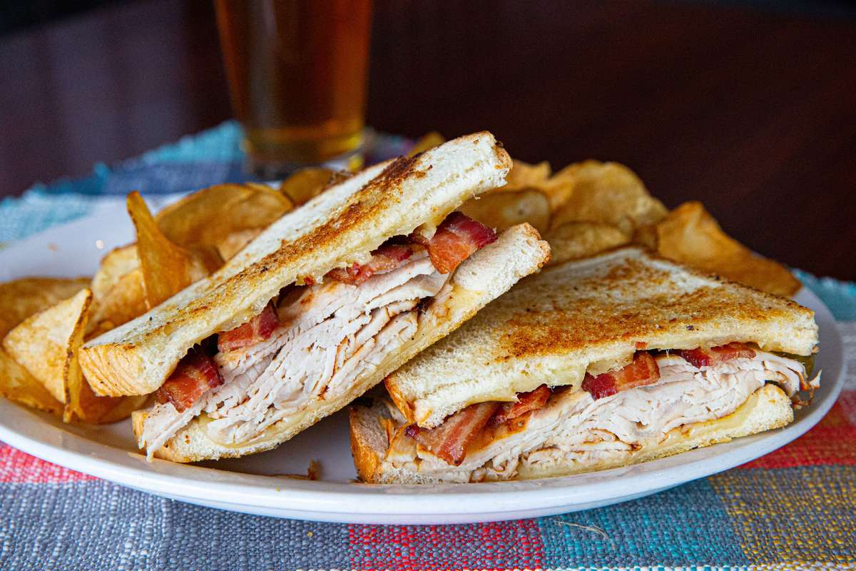 Grilled Turkey, Bacon & Havarti