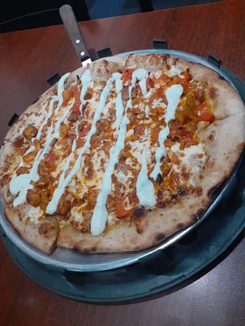 Buffalo Chicken Ranch Pizza