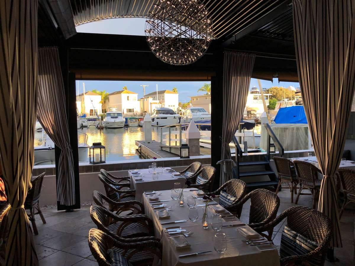 Spring Dining on the Bay