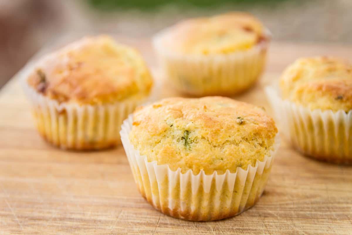 Corn Muffins (pair)