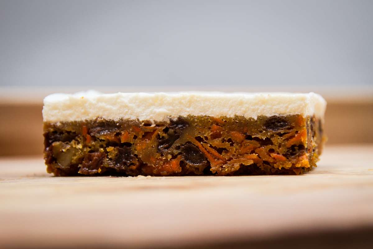 Rum Raisin Carrot Cake