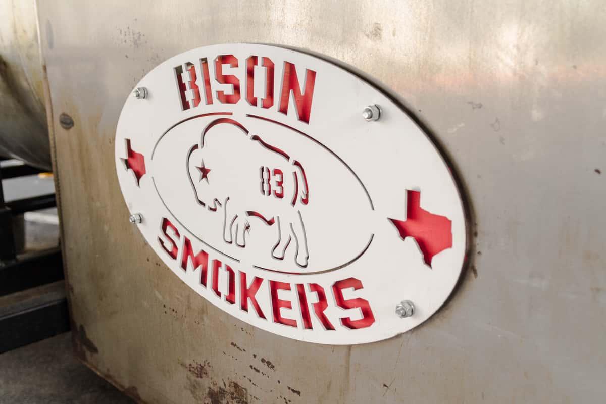 bison smoker
