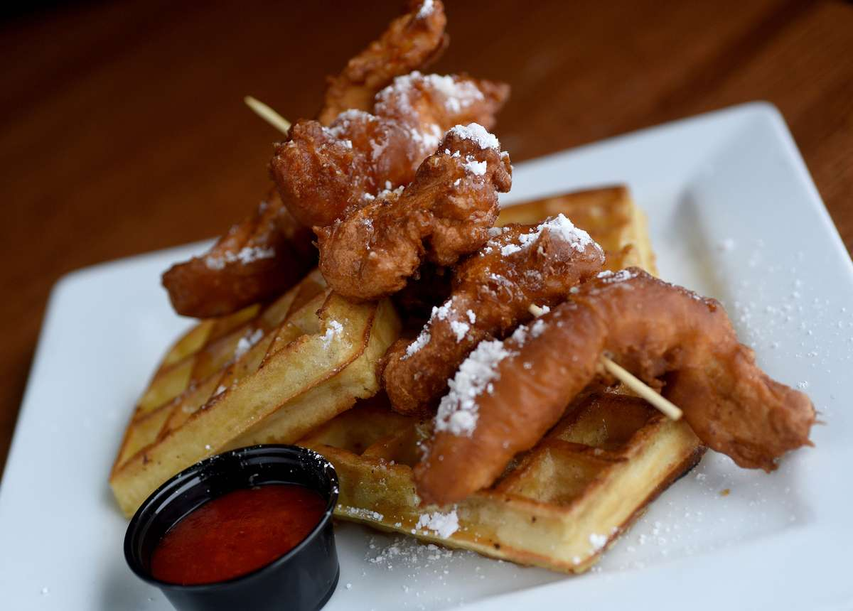 Chicken - n - Waffles