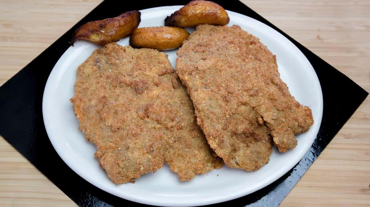 5. Chuletas de Puerco Empanisadas - Breaded Pork Chops