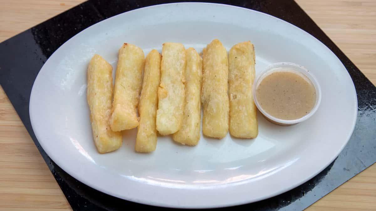 Yuca Frita - Fried Yucca