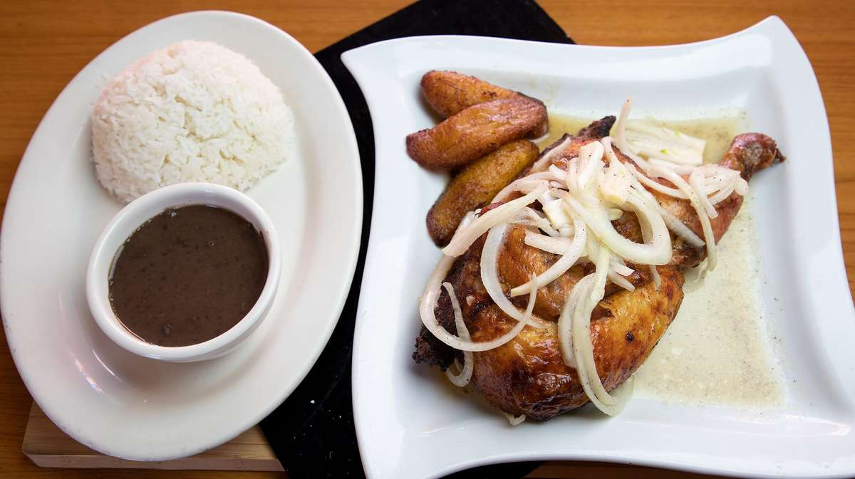 6. Pollo Asado - Roasted Garlic Chicken