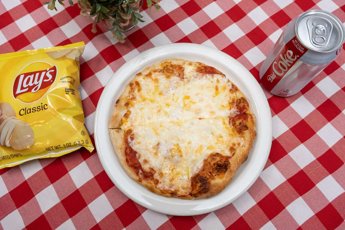 Personal Cheese Pizza Combo