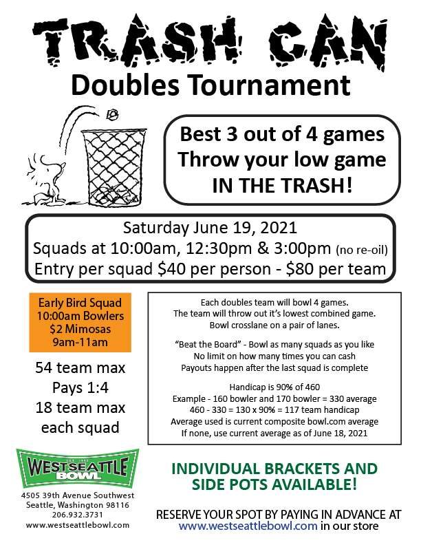 Next Tournament - June 19