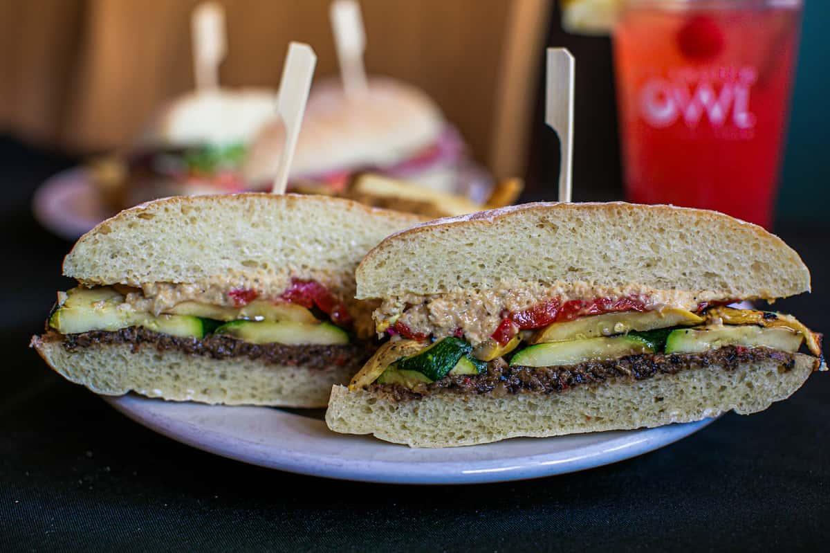 Veggie Stack Sandwich
